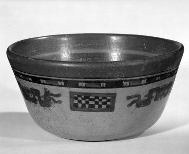 Maya. Bowl. Decorated pottery Brooklyn Museum, A. Augustus Healy Fund, 35.1887. Creative Commons-BY