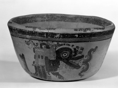 Maya. Bowl. Ceramic, pigment, 4 3/16 x 7 5/8 x 7 3/4 in. (10.6 x 19.4 x 19.7 cm). Brooklyn Museum, A. Augustus Healy Fund, 35.1894. Creative Commons-BY