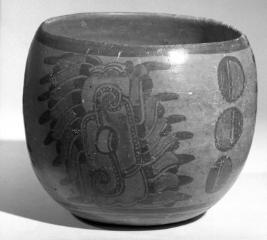 Maya. Bowl. Pottery, 5 x 6 1/4 x 6 1/4 in. (12.7 x 15.9 x 15.9 cm). Brooklyn Museum, A. Augustus Healy Fund, 35.1895. Creative Commons-BY