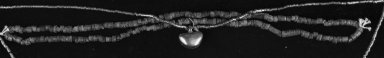 Jade Necklace made up of Small Cylindrical Beads. Jade, 24 7/16in. (62cm). Brooklyn Museum, Alfred W. Jenkins Fund, 35.197. Creative Commons-BY