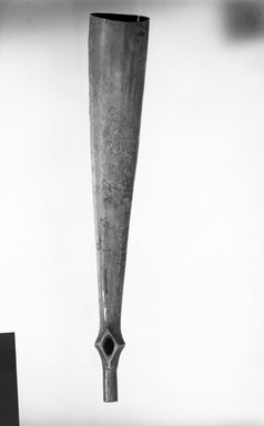Zande. Musical Horn, late 19th-early 20th century. Ivory tusk, 4 3/4 x 25 3/16 in. (12.1 x 64 cm). Brooklyn Museum, Gift of Appleton Sturgis, 35.2031. Creative Commons-BY