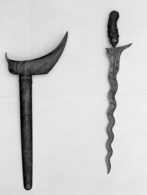 Kris. Metal, hardwood Brooklyn Museum, Gift of Appleton Sturgis, 35.2076. Creative Commons-BY