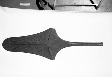 Ceremonial Paddle. Hardwood, 51 1/8 x 17 1/8 in. (129.9 x 43.5 cm). Brooklyn Museum, Gift of Appleton Sturgis, 35.2175. Creative Commons-BY