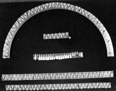 Pieces of Necklace or Ornament. Gold Brooklyn Museum, Alfred W. Jenkins Fund, 35.394. Creative Commons-BY