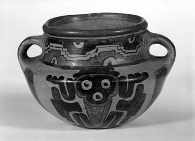 Maya. Bowl. Ceramic, pigment, 4 1/4 x 6 1/2 x 5 3/4 in. (10.8 x 16.5 x 14.6 cm). Brooklyn Museum, A. Augustus Healy Fund, 35.644. Creative Commons-BY