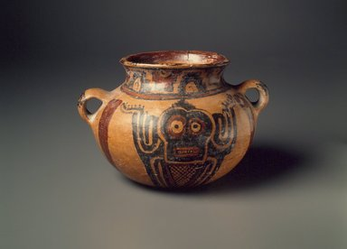 Maya. Bowl. Ceramic, pigment., 4 x 6 1/2 x 5 1/2 in. (10.2 x 16.5 x 14 cm). Brooklyn Museum, A. Augustus Healy Fund, 35.645. Creative Commons-BY