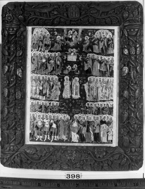 "Byzantine. Icon, ""Te Deum Laudamus."" . Painting, 21 1/4 x 16 1/8 in. (54 x 41 cm). Brooklyn Museum, Frank L. Babbott Fund and Henry L. Batterman Fund, 36.205"