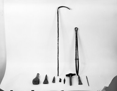 Kwanga. Raking Implement (Sikongyeto), late 19th-early 20th century. Iron, 30 3/4 x 1 1/8 in. (78.0 x 3.0 cm). Brooklyn Museum, Museum Collection Fund, 36.531. Creative Commons-BY