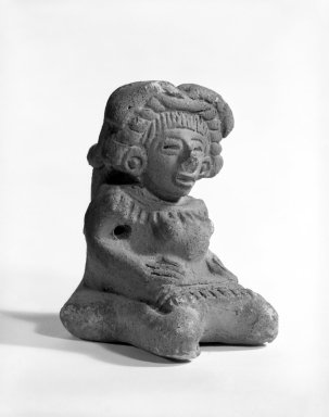 Aztec. Seated Figure of Woman. Ceramic Brooklyn Museum, Carll H. de Silver Fund, 36.600. Creative Commons-BY