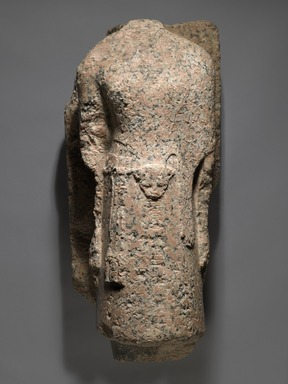 High Priest of Amun, Men-kheper-re-seneb, 1479-1425 B.C.E. Granite, 28 3/8 x 10 7/16 x 12 15/16in. (72 x 26.5 x 32.8cm). Brooklyn Museum, Charles Edwin Wilbour Fund, 36.613. Creative Commons-BY