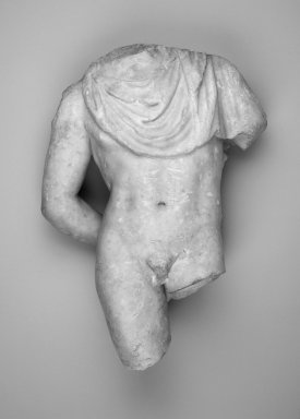 Greek. Torso of a Boy, ca. 100 C.E. Marble, 18 11/16 x 11 1/2 x 5 in. (47.5 x 29.2 x 12.7 cm). Brooklyn Museum, Charles Edwin Wilbour Fund, 36.618. Creative Commons-BY