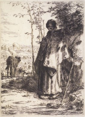 Brooklyn Museum: The Large Shepherdess (La Grande Bergère)