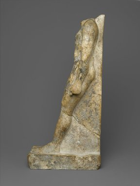 Brooklyn Museum: Statue of a Priest, Wen-amun Son of Nes-ba-neb-dedet and Ta-sherit-Khonsu