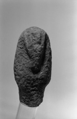 Ushabti, ca. 1352-1336 B.C.E. Limestone, 6 7/8 x 3 1/4 x 2 9/16 in. (17.5 x 8.3 x 6.5 cm). Brooklyn Museum, Gift of the Egypt Exploration Society, 36.874. Creative Commons-BY