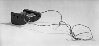 Eskimo (Native American). Model of Sled, 1900-1930. Wood, hide, bone, (5.7 x 3.0 cm). Brooklyn Museum, Gift of Frank K. Fairchild, 36.96. Creative Commons-BY