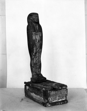 Mummiform Figure of Osiris, 305–30 B.C.E. Wood, painted, Figure: 17 1/8 x 3 3/4 x 2 3/8 in. (43.5 x 9.5 x 6 cm). Brooklyn Museum, Charles Edwin Wilbour Fund, 37.1377E. Creative Commons-BY