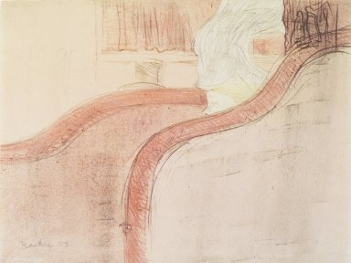 Henri de Toulouse-Lautrec (French, 1864-1901). La Petite Loge, 1897. Lithograph on China paper, 12 3/16 x 9 3/16 in. (30.9 x 23.4 cm). Brooklyn Museum, By exchange, 37.151