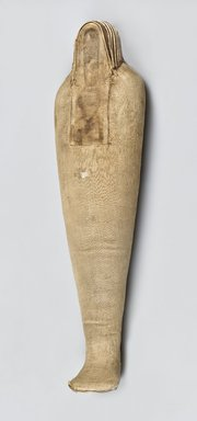 Ibis-Form Shrew Mummy, 664-332 B.C.E. Animal remains, linen, 4 3/4 x 3 1/2 x 19 5/8 in. (12.1 x 8.9 x 49.8 cm). Brooklyn Museum, Charles Edwin Wilbour Fund, 37.1987E. Creative Commons-BY