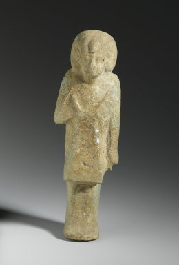 Ushabti of Queen Keromama, ca. 1075-656 B.C.E. Faience, Height: 14 1/2 in. (36.8 cm). Brooklyn Museum, Charles Edwin Wilbour Fund, 37.209E. Creative Commons-BY