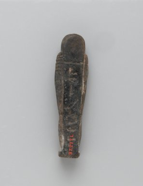 Ushabti of Yuf-o, 664-343 B.C.E. Faience, 3 5/8 x 1 1/16 x 13/16 in. (9.3 x 2.8 x 2 cm). Brooklyn Museum, Charles Edwin Wilbour Fund, 37.227E. Creative Commons-BY