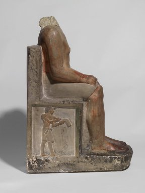 Seated Statue of Nakhtsaes