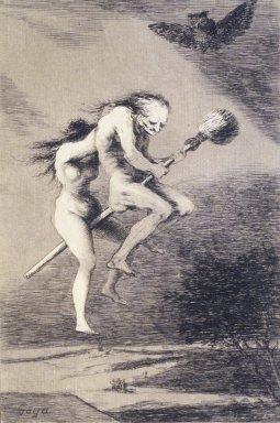 Francisco de Goya y Lucientes (Spanish, 1746-1828). Pretty Teacher! (Linda maestra!), 1797-1798. Etching, aquatint, and drypoint on laid paper, Sheet: 11 7/8 x 8 in. (30.2 x 20.3 cm). Brooklyn Museum, A. Augustus Healy Fund, Frank L. Babbott Fund, and Carll H. de Silver Fund, 37.33.68