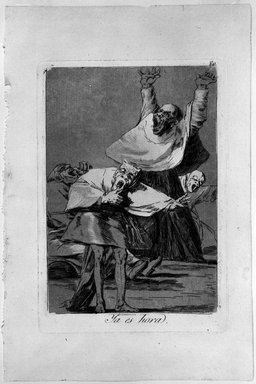 Francisco de Goya y Lucientes (Spanish, 1746-1828). It Is Time (Ya es hora), 1797-1798. Etching and aquatint on laid paper, Sheet: 11 7/8 x 7 15/16 in. (30.2 x 20.2 cm). Brooklyn Museum, A. Augustus Healy Fund, Frank L. Babbott Fund, and Carll H. de Silver Fund, 37.33.80