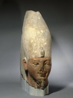 Brooklyn Museum: Head of an Early Eighteenth Dynasty King