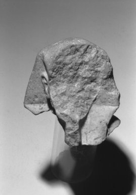 Sculpture Fragment, ca. 1352-1336 B.C.E. Limestone, 3 1/2 x  greatest width 3 1/4 in. (8.9 x 8.3 cm). Brooklyn Museum, Charles Edwin Wilbour Fund, 37.556. Creative Commons-BY