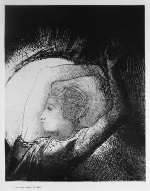 Odilon Redon (French, 1840-1916). Apocalypse de Saint-Jean, 1899. Lithograph on China paper laid down, 9 1/16 x 11 1/4 in. (23 x 28.6 cm). Brooklyn Museum, By exchange, 37.7.7