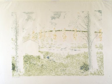 Brooklyn Museum: Landscape with House (Paysage avec maison)