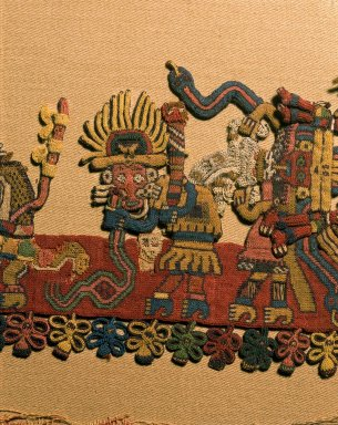 Brooklyn Museum: Mantle, known as The Paracas Textile