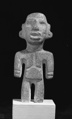 Toltec (Guerrero). Figurine. Stone Brooklyn Museum, Gift of William Spratling, 38.151. Creative Commons-BY