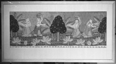 Brooklyn Museum: Fragment of Temple Hanging