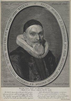 Cornelis van Dalen (Dutch, ca. 1602-1665). Fessus Hommius. Engraving, Sheet: 12 5/8 x 8 7/8 in. (32 x 22.6 cm). Brooklyn Museum, Museum Collection Fund, 38.766