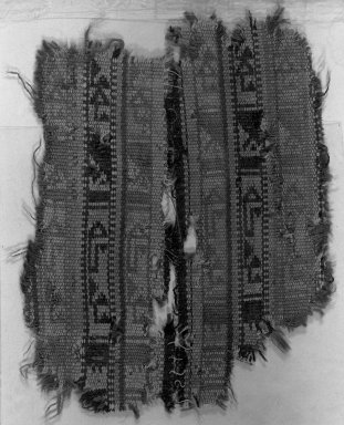 Egypto-Arabic Textile, Braid, 13th-15th century. Wool, ribbed cloth, 4 5/16 x 5 1/2 in. (11 x 14 cm). Brooklyn Museum, Charles Edwin Wilbour Fund, 38.843. Creative Commons-BY
