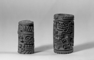 Brooklyn Museum: Cylindrical Stamp