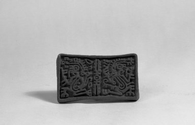 Possibly Aztec. Stamp, 1000-1500. Ceramic, 1 3/4 x 1 3/8 x 2 5/16 in. (4.4 x 3.5 x 5.9 cm). Brooklyn Museum, Ella C. Woodward Memorial Fund, 39.123.45. Creative Commons-BY