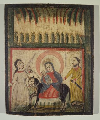 Brooklyn Museum: The Flight into Egypt