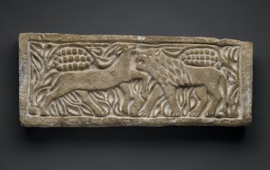 Brooklyn Museum: Lion Attacking an Antelope