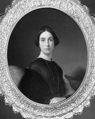 John G. Taggart (American, 1820-1871). Mrs. Robert James Milligan, 1851. Oil on canvas, 29 15/16 x 24 15/16 in. (76 x 63.3 cm). Brooklyn Museum, Dick S. Ramsay Fund, 40.685