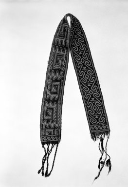 Huichol (Wixárika). Headband. Wool Brooklyn Museum, Ella C. Woodward Memorial Fund, 40.747. Creative Commons-BY