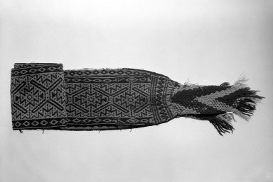 Huichol (Wixárika). Wide Belt. Wool, 111 7/8 x 5 1/2 in. Brooklyn Museum, 40.764. Creative Commons-BY
