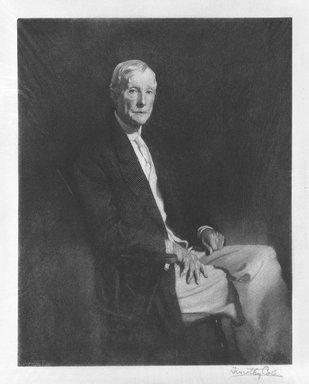 Timothy Cole (American, 1852-1931). John D. Rockefeller, Sr., 1921. Wood engraving Brooklyn Museum, Gift of John D. Rockefeller, Jr., 40.93