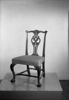 American. Pair of Side Chairs, 1765-1775. Mahogany, 36 1/4 x 21 1/2 x 17 3/4 in. (92.1 x 54.6 x 45.1 cm). Brooklyn Museum, Gift of Mrs. Francis P. Garvan in memory of Francis P. Garvan, 41.1195a-b. Creative Commons-BY