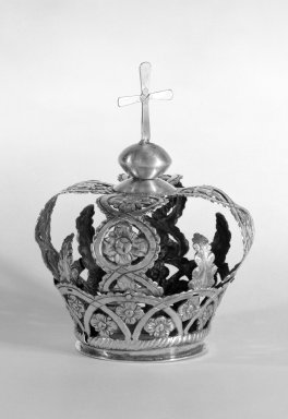 Crown for a Religious Figure. Silver Brooklyn Museum, Museum Expedition 1941, Frank L. Babbott Fund, 41.1273.15. Creative Commons-BY