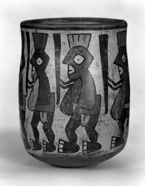 Nasca. Jar with Painted Figures of Insects Carrying Staffs. Pottery Brooklyn Museum, Museum Expedition 1941, Frank L. Babbott Fund, 41.1275.102. Creative Commons-BY