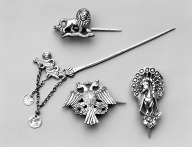 Brooch. Silver Brooklyn Museum, Museum Expedition 1941, Frank L. Babbott Fund, 41.1275.270. Creative Commons-BY