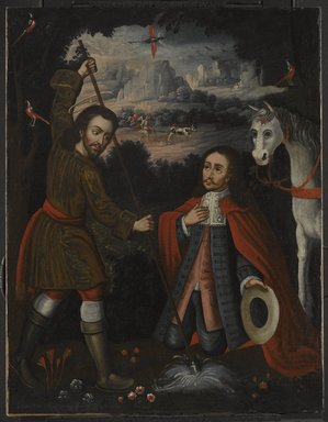 Saint Isidore the Farmer, ca. 1750. Oil on canvas, 31 1/8 x 24 1/4in. (79.1 x 61.6cm). Brooklyn Museum, Museum Expedition 1941, Frank L. Babbott Fund, 41.1275.189