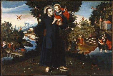 Cuzco School. Saint John of God, 18th century. Oil on canvas, 39 3/4 x 59 1/2in. (101 x 151.1cm). Brooklyn Museum, Museum Expedition 1941, Frank L. Babbott Fund, 41.1275.190